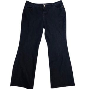 Style & Co. boot cut dark wash jeans